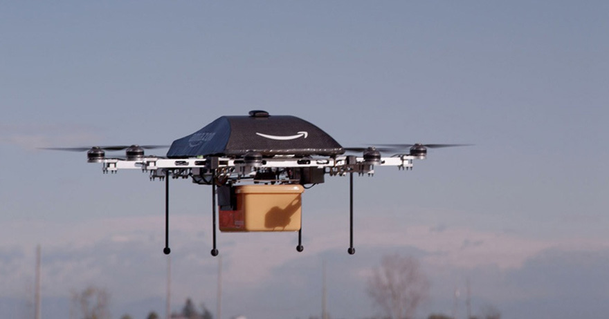 Amazon Unveils Flying Robot Drones [VIDEO]
