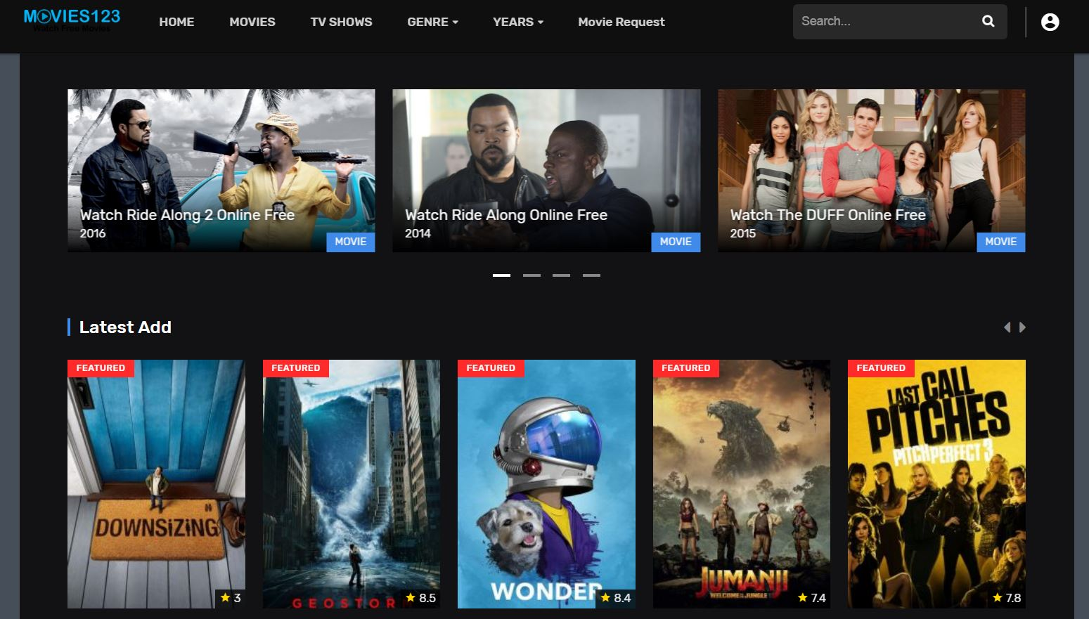 This is a ads free site so you not need to worry about being irritated by  ads during watching movies. This is a safe free movie stream site to stream  new ...