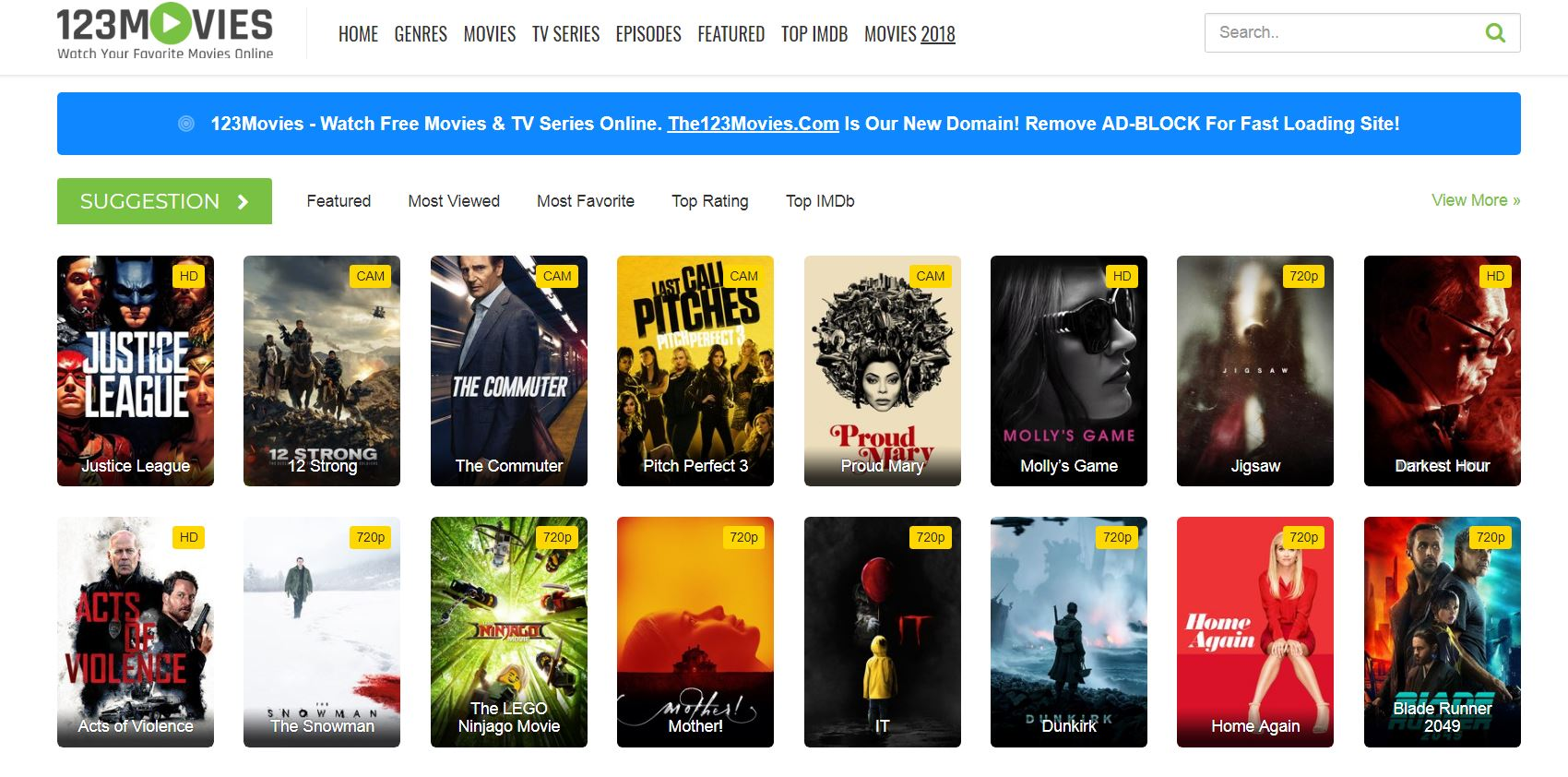 Watch Free Movie Streaming